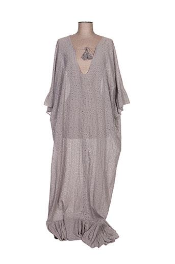 by amelie robes femme de couleur gris