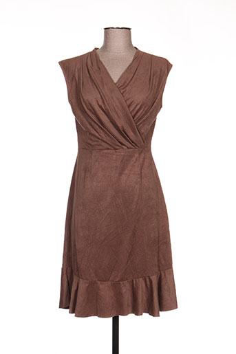 esperance robes femme de couleur marron