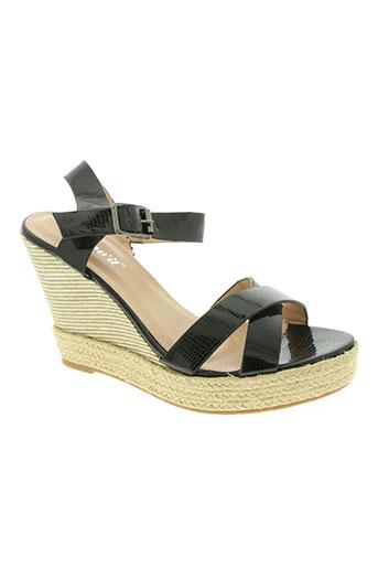 lov'it chaussures femme de couleur noir