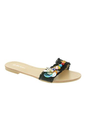 bo'aime chaussures femme de couleur noir