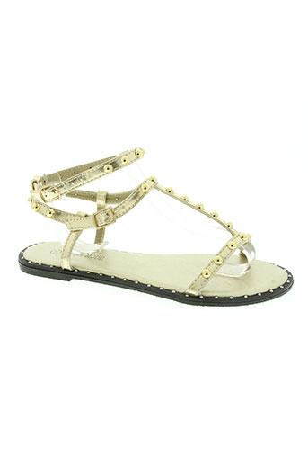 laura mode chaussures femme de couleur jaune