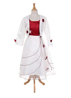 Veste/robe rouge LES VOILIERS pour fille