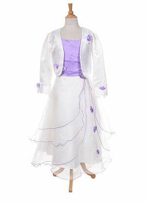 Veste/robe violet LES VOILIERS pour fille