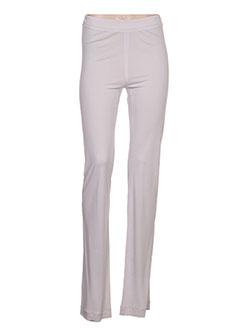 Pantalon casual gris FUZZI pour femme