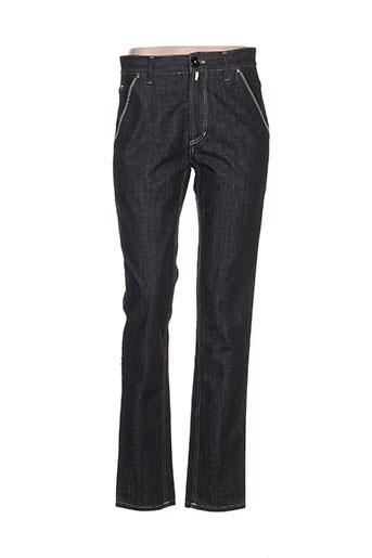 high jeans femme de couleur gris