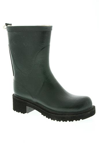 ilse jacobsen chaussures femme de couleur vert