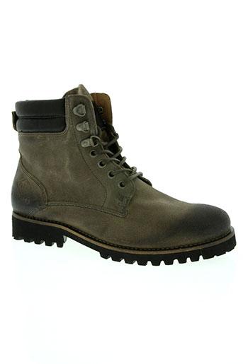 palladium chaussures homme de couleur marron
