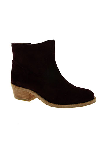 Bottines/Boots violet BENSIMON pour femme