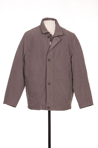 peter cofox manteaux homme de couleur gris