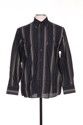 karl smith chemises homme de couleur noir