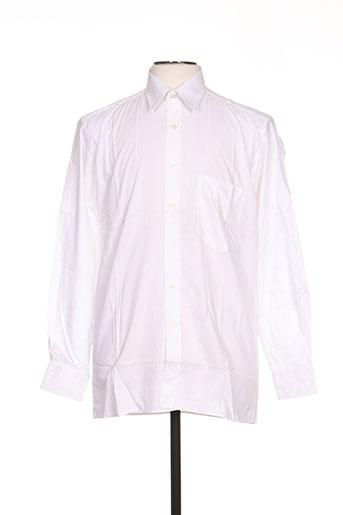 Chemise manches longues blanc LUI pour homme