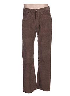 Pantalon casual marron FULL BLUE pour homme