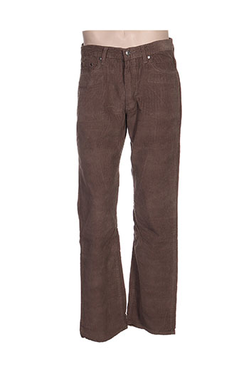 full blue pantalons homme de couleur marron