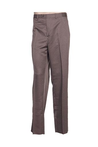 laboureur pantalons homme de couleur beige