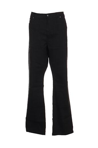 full blue pantalons femme de couleur noir