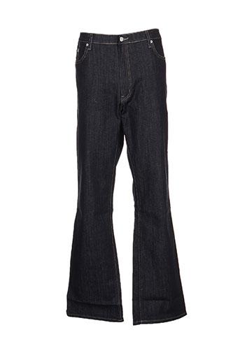effectif jeans homme de couleur bleu