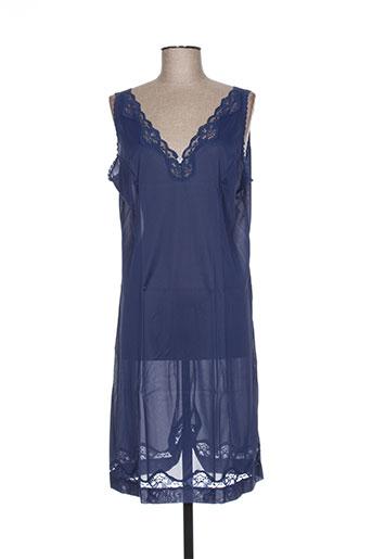 éliane jupes femme de couleur bleu