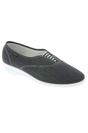 fargeot chaussures femme de couleur bleu