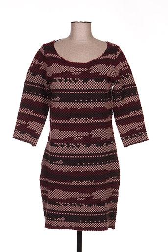vila robes femme de couleur marron