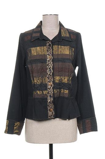 pauporté chemises femme de couleur noir