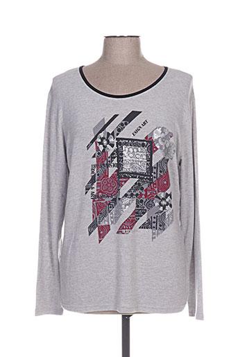 k'tendances t-shirts femme de couleur gris