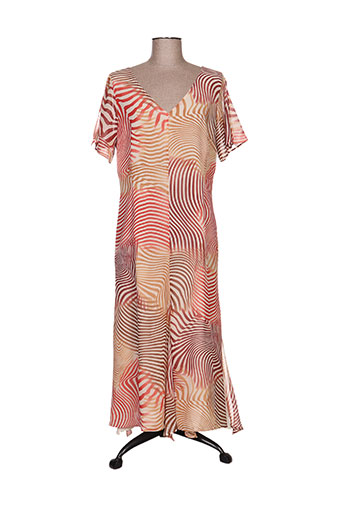 gerard pasquier robes femme de couleur beige
