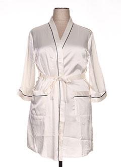 Robe de chambre beige ROSE POMME pour femme