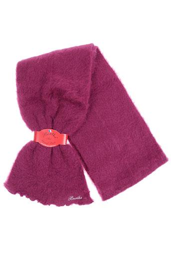 berthe aux grands pieds accessoires femme de couleur rose