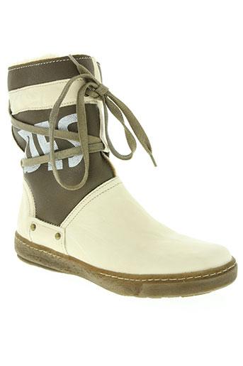 manas design chaussures femme de couleur blanc