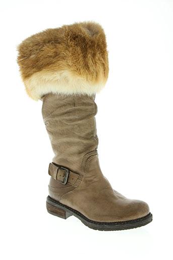 manas design chaussures femme de couleur marron