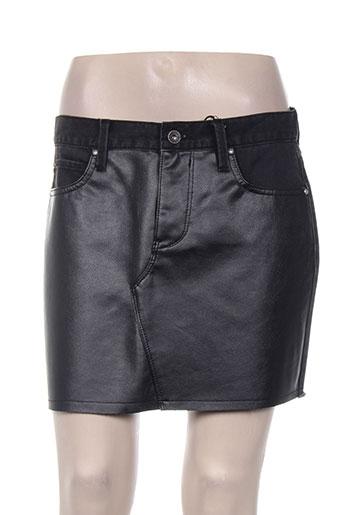 pepe jeans jupes fille de couleur noir