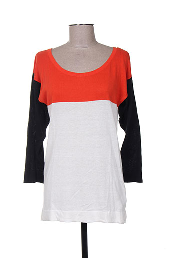 kenvelo pulls femme de couleur orange
