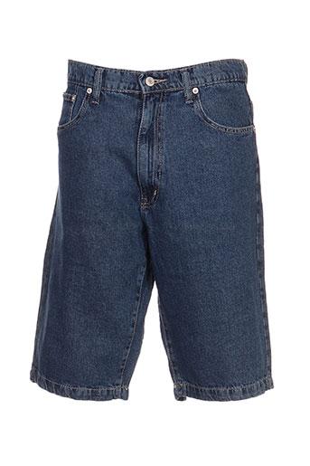 full blue shorts / bermudas homme de couleur bleu