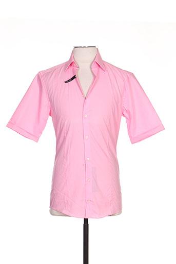 venti chemises homme de couleur rose