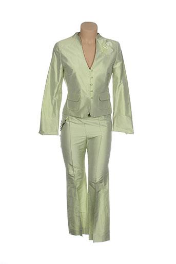 1 2 3 ensembles femme de couleur vert