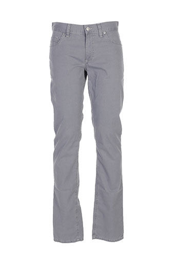 alberto pantalons homme de couleur gris