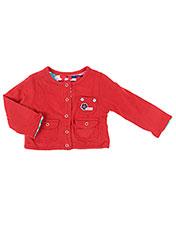 Veste casual rouge BOBOLI pour fille seconde vue