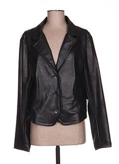 Veste casual noir 3322 pour femme