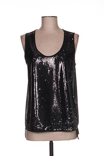 kosmika chemises femme de couleur noir