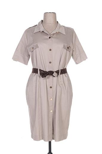 chema blanco robes femme de couleur gris
