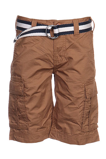 teddy smith shorts / bermudas garçon de couleur marron