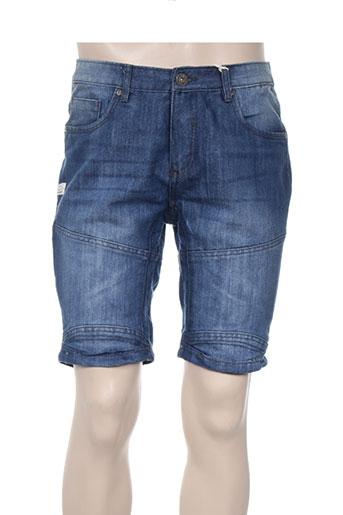 deeluxe shorts / bermudas homme de couleur bleu