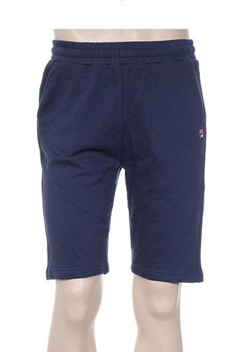 fila shorts / bermudas homme de couleur bleu