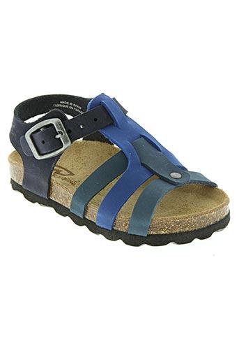 reqins chaussures garçon de couleur bleu