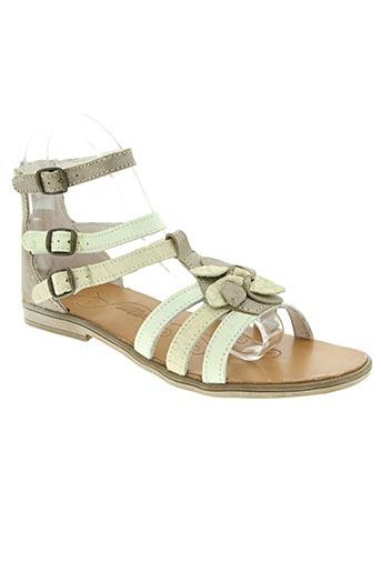 tty chaussures femme de couleur beige