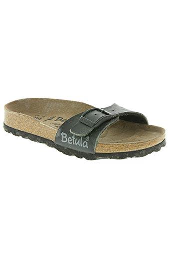 betula chaussures enfant de couleur noir