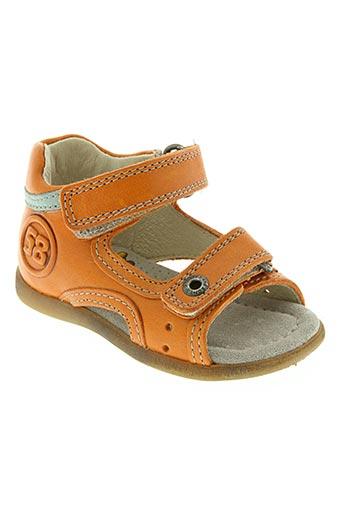 stones and bones chaussures garçon de couleur orange