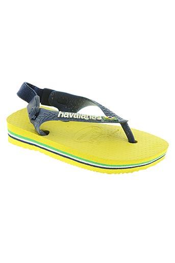 havaianas chaussures enfant de couleur bleu