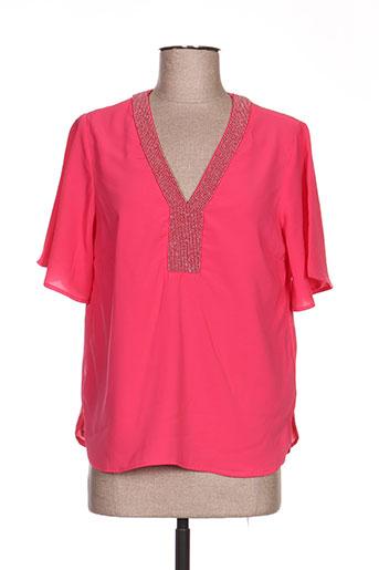 julie guerlande chemises femme de couleur rose
