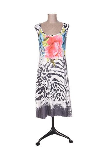 missy robes femme de couleur blanc